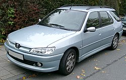 "Peugeot 306 5-door estate (""Phase 3"" model)"