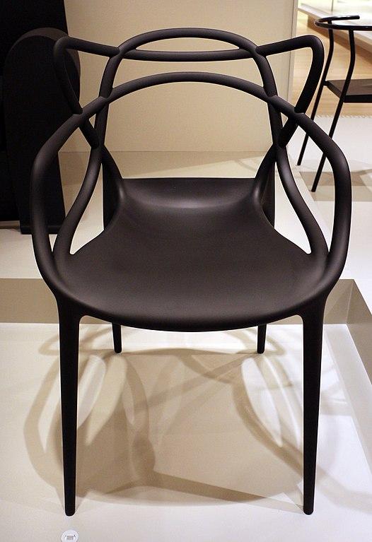 File:Philippe starck per kartell spa, sedia louis ghost, 2002.jpg ...