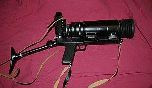Tair (lens) - Photosniper 12S with Tair 3 lens mounted