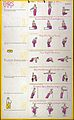 Physical exercises recommended for Tuesday (recto) and Thurs Wellcome L0023430.jpg