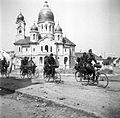 Piaţa Unirii, szemben az ortodox templom. Fortepan 2469.jpg