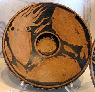 Fish plate - 380-75 BC