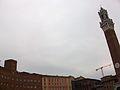 Piazza del Campo i torre del Mangia, Siena.JPG