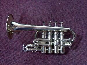 Piccolo trumpet - Piccolo trumpet.