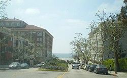 Pico Boulevard at the Ocean in Santa Monica.JPG