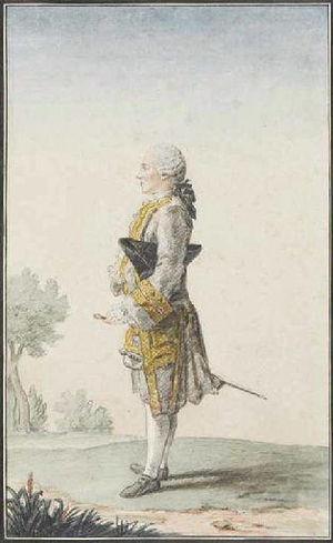 Mathieu-François Pidansat de Mairobert - Pidansat de Mairobert, 1760