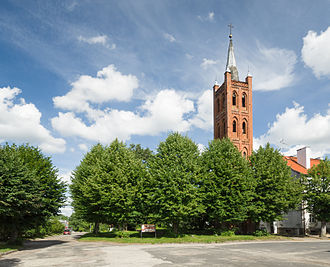 Pieniężno - Lutheran church