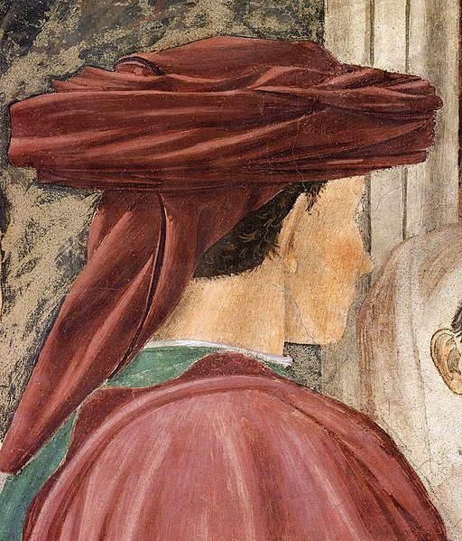 Piero della Francesca - 2b. Meeting between the Queen of Sheba and King Solomon - WGA17503