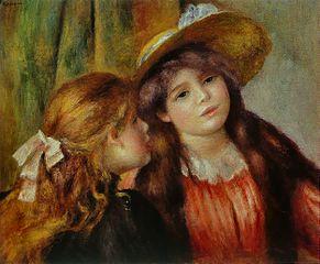 Retrat de dues nenes