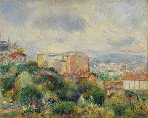 View From Montmartre (Vue de Montmartre)