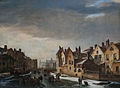 Pierre Francois de Noter - Winter Scene in Ghent.jpg