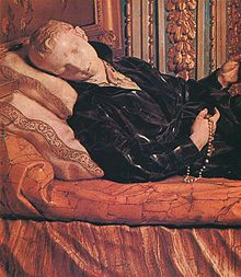 Stanislas Kostka on his deathbedby Pierre Le Gros the Younger