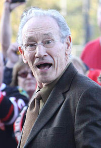 Pierre Pilote - Blackhawks 2010-11 season opener - Oct 9, 2010 - crop.jpg