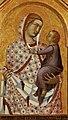 Pietro Lorenzetti - Madonna and Child (detail of a polyptych) - WGA13537.jpg