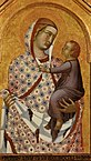 Pietro Lorenzetti - Madonna and Child (detail of a polyptych) - WGA13537.jpg