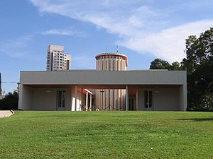 Weizmann House - View of the entrance to the Weizmann House