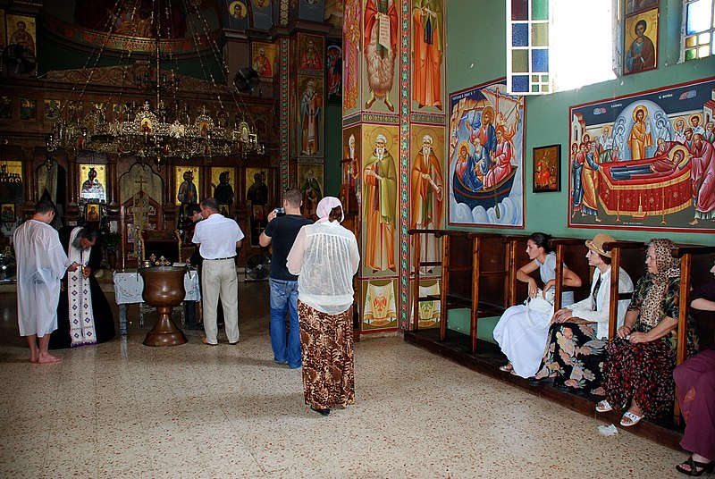 כנסיית 12 השליחים בכנרת