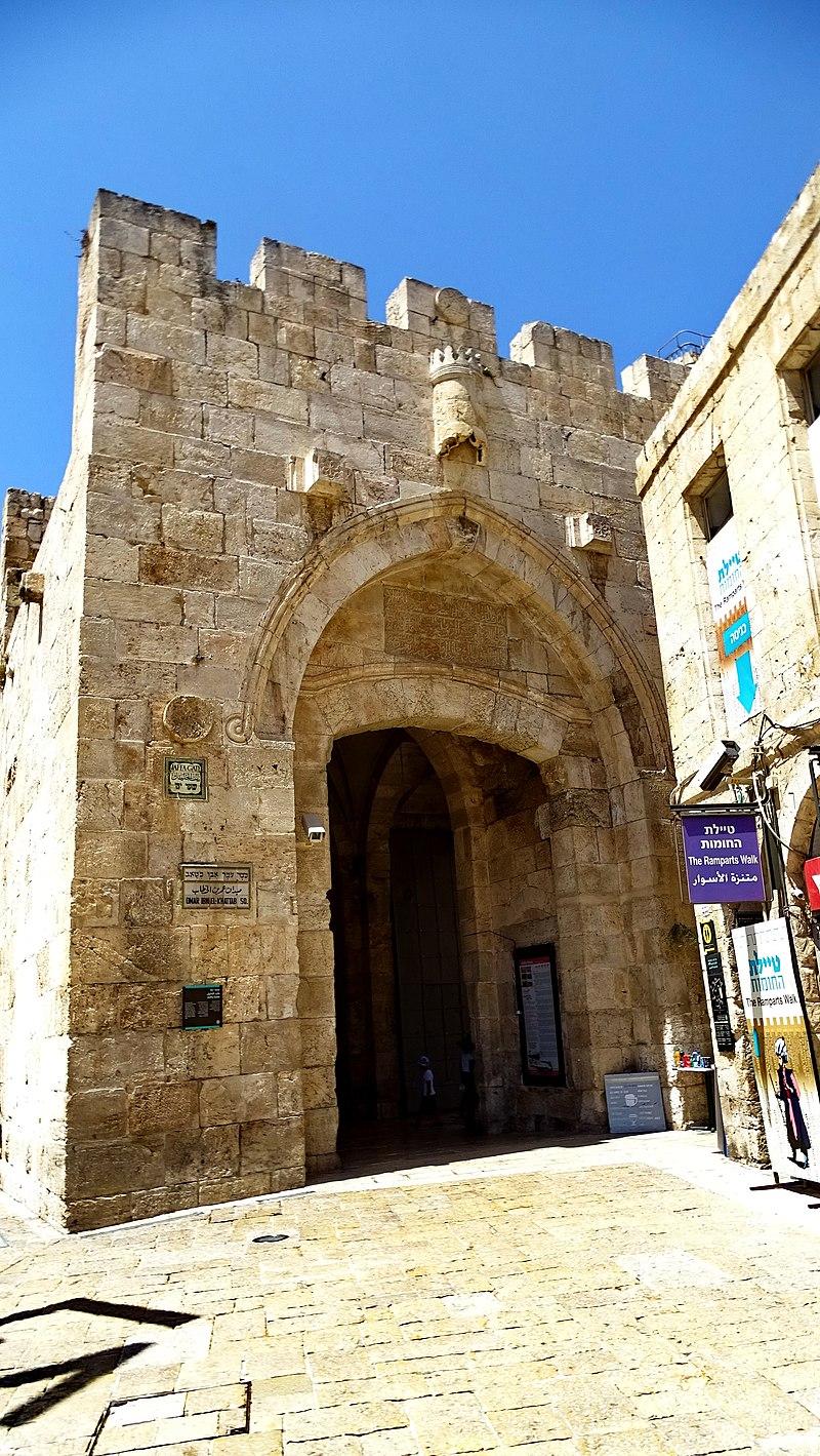 שער יפו בחומת ירושלים
