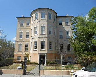 Spoleto Festival USA - The offices of Spoleto Festival USA are located in the Middleton-Motte-Pinckney House at 14 George St., Charleston, South Carolina