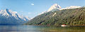 Pine-Covered Slopes and Snowcapped Mountains Surround Redfish Lake.jpg
