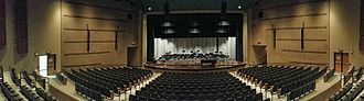 Pine City High School - The auditorium at PCHS.