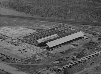 Golden Circle (company) - Pineapple cannery under construction at Northgate, 1946