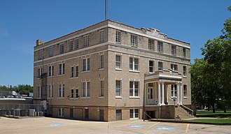 Pittsburg, Texas - Camp County Courthouse