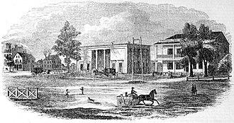 Joseph Scelsi Intermodal Transportation Center - The oft-maligned 1840-built station around 1842