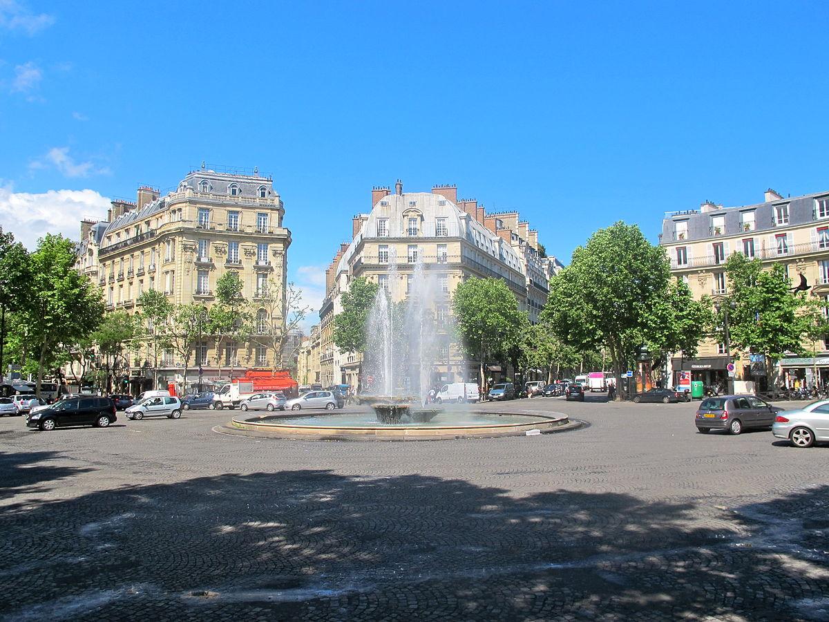 Fontaine de la place victor hugo wikip dia - Victor hugo paris 16 ...
