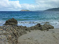 Plage de OPorto de Bares et l'île Coelleira.jpg