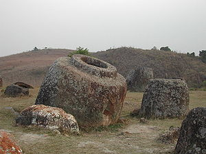 History of Laos - Plain of Jars, Xiangkhouang