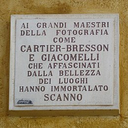 Plaque Cartier-Bresson Scanno (cropped).jpg