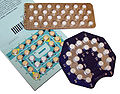birth control pill packages