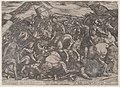 Plate 9- The Israelites Battling the Amalekites, from 'The Battles of the Old Testament' MET DP863702.jpg