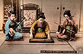 Playing on Samisen, Yokin and Kokin.jpg