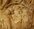 Ploraners del sepulcre de Bernat Guillem d'Entença, monestir del Puig.JPG