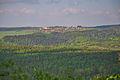 Pohled na Okrouhlou ze skalky jihozápadně od Valchova, okres Blansko.jpg