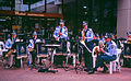 Police band near Wesfield shopping centre in Sydney.jpg