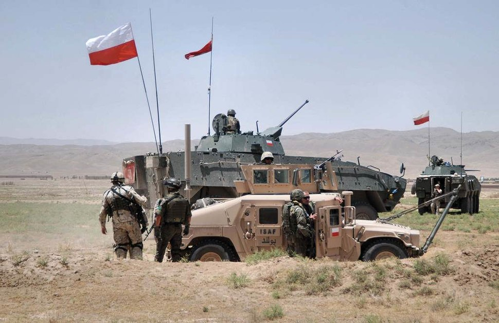 Polish Army soldiers in Afghanistan