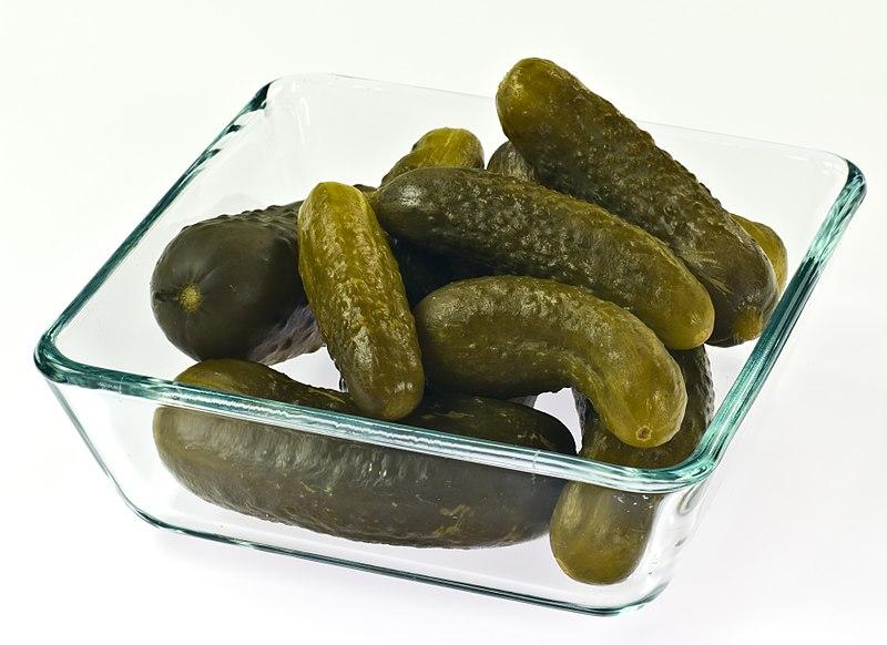 File:Polish style pickled cucumbers IMGP0413.jpg