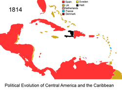 Political Evolution of Central America and the Caribbean 1814 na.png
