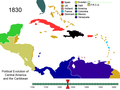 Political Evolution of Central America and the Caribbean 1830.png