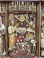 Polittico di Santa Caterina di artista inglese del sec. XV (attr.), dettaglio, (6).JPG