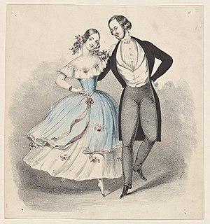Polka - Polka, c. 1840.