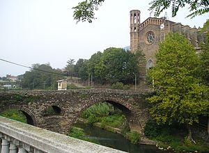 Sant Joan les Fonts - Image: Pont Medieval Sant Joan les Fonts(Catalunya)