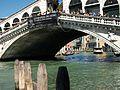 Pont de Rialto i el Gran Canal, Venècia.JPG