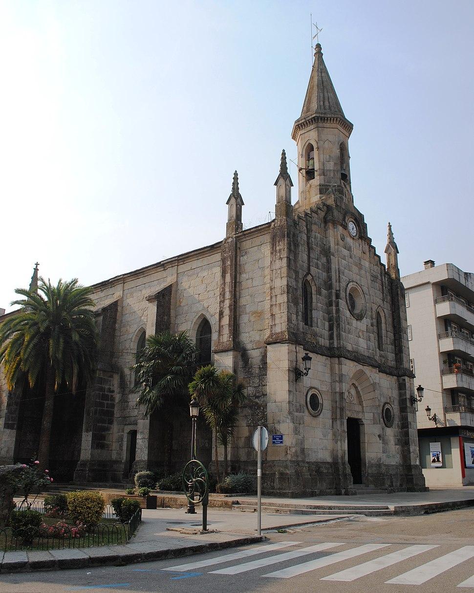 Igrexa de San Miguel de Ponteareas.