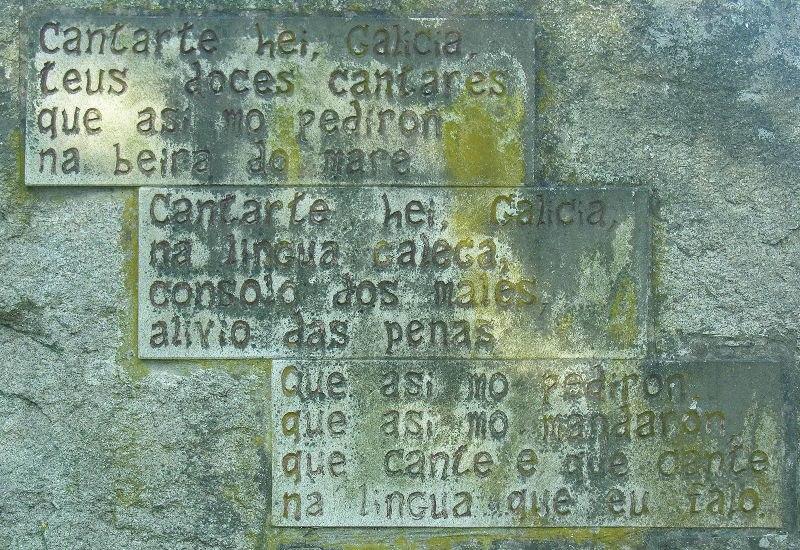 I As de cantar - IV Cantart' ei, Galicia, nun monumento en Pontevedra.