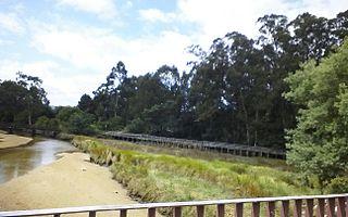 Marismas de Alba Natural Park Natural park in Pontevedra (Spain)