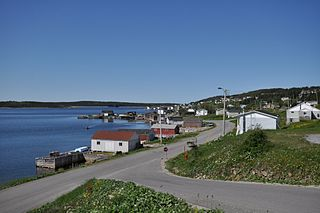 Port Saunders Town in Newfoundland and Labrador, Canada